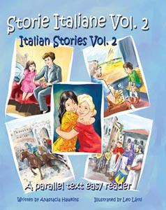 Bilingual book: Storie Italiane Vol. 2 - Italian Stories Vol. 2
