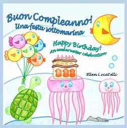 Buon Compleanno! - Happy Birthday! Bilingual picture book