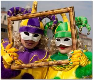Carnival in Venice Italy