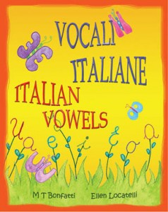 childrens book about italian vowels